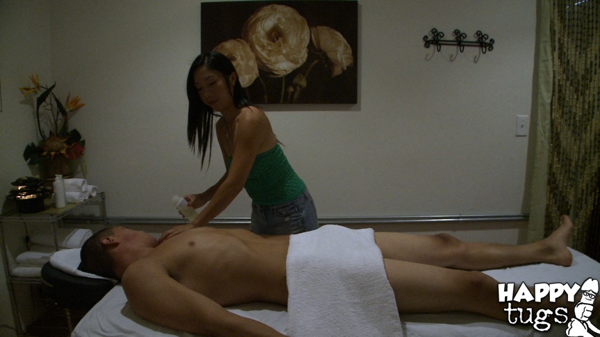 Massage handjob blow job